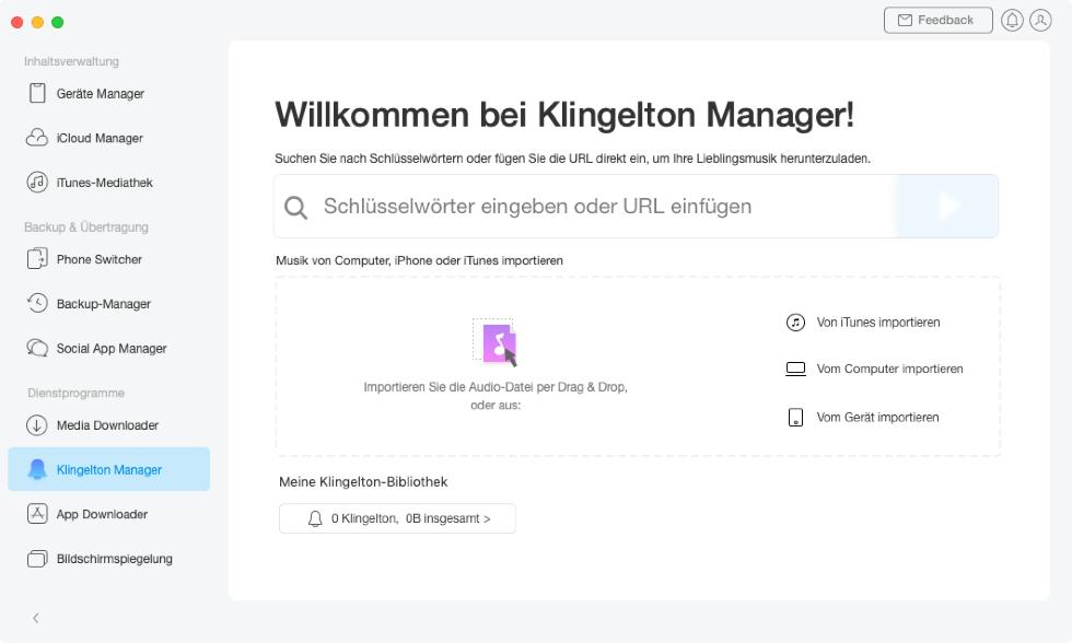 klingelton-manager-oeffnen-und-herstellen