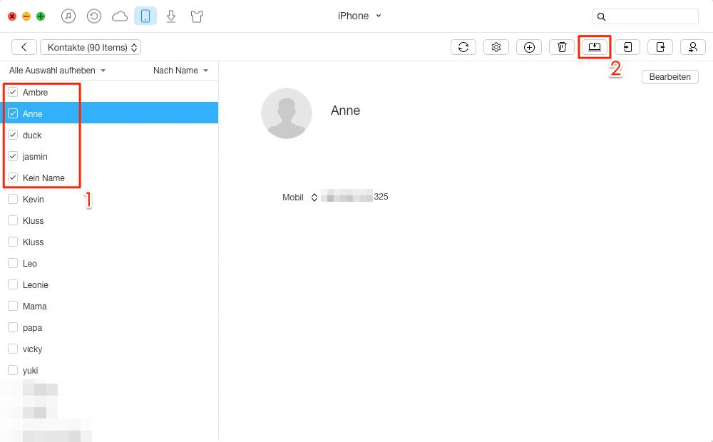 Kontakte Iphone Auf Macbook Übertragen