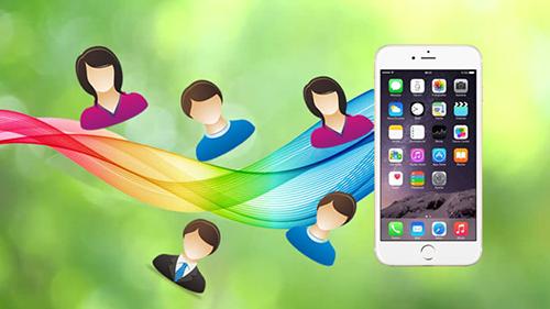Kontakte von iPhone auf Mac mit AnyTrans kopieren