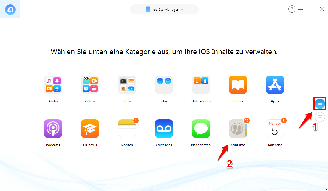 Iphone 5s kontakte übertragen