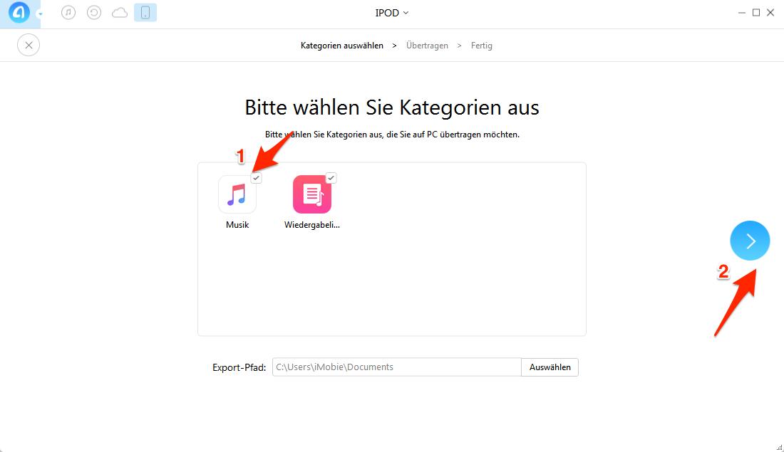 iPod Musik auf PC übertragen – Schritt 32