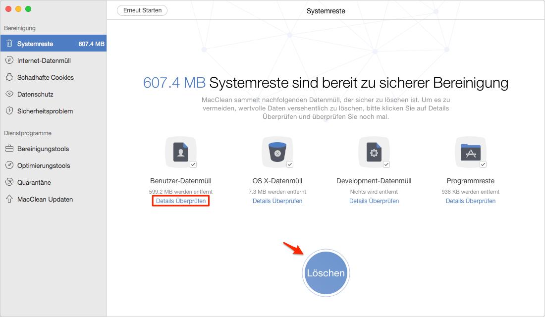 Mac beschleunigen: Mac wird immer langsam – Schritt 2