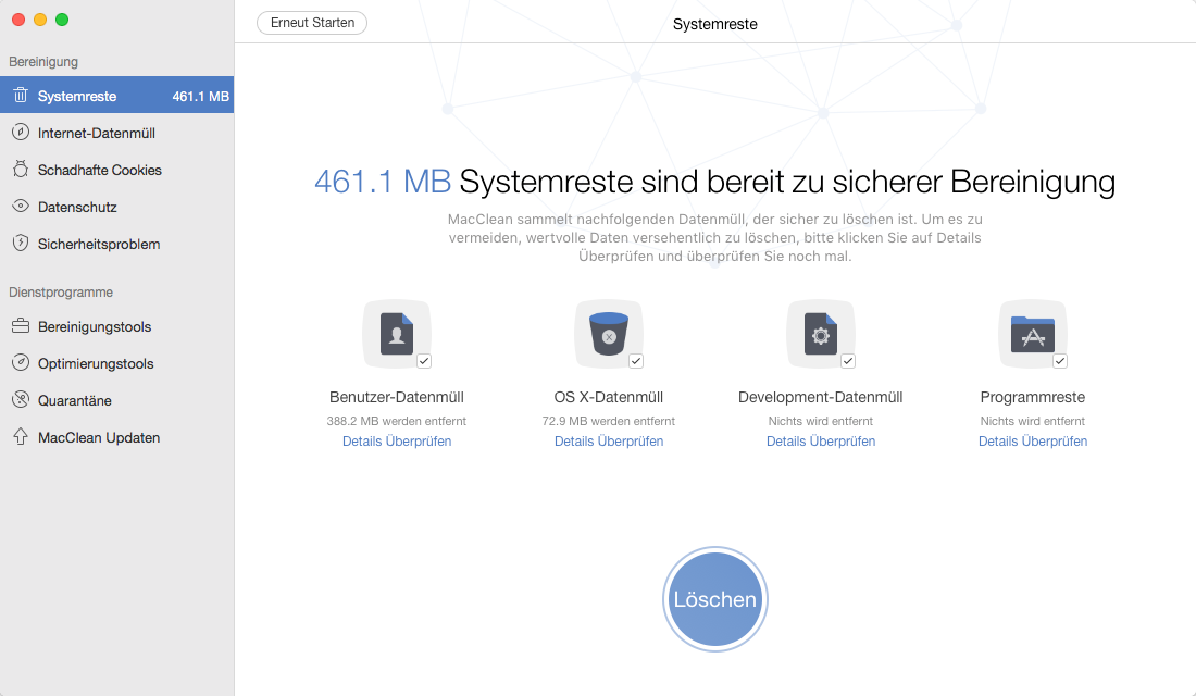 macOS High Sierra Download – MacClean reinigen