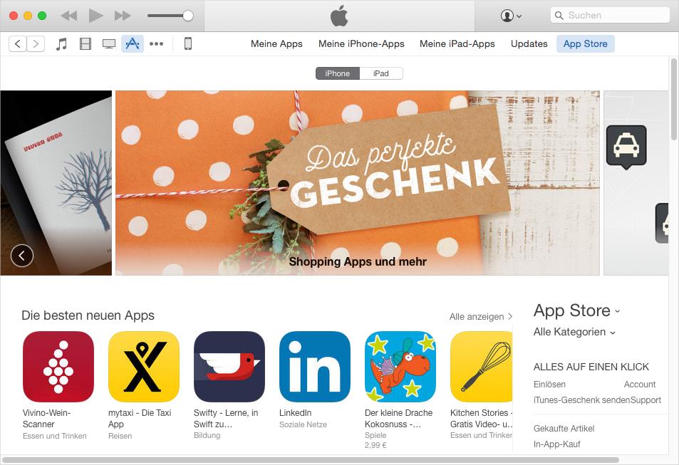 iTunes 12.7 Probleme – iTunes synchronisiert App nicht