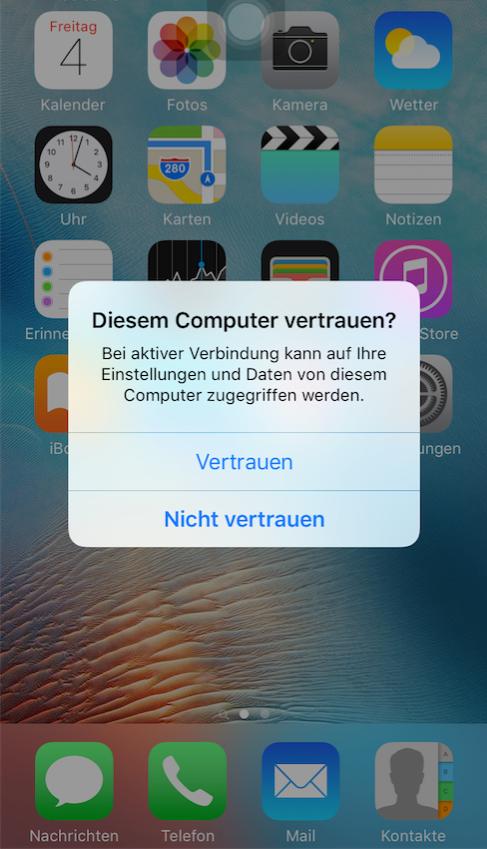 iTunes Probleme – iTunes 12.7/12.6.1/12.5.4 erkennt iPhone nicht