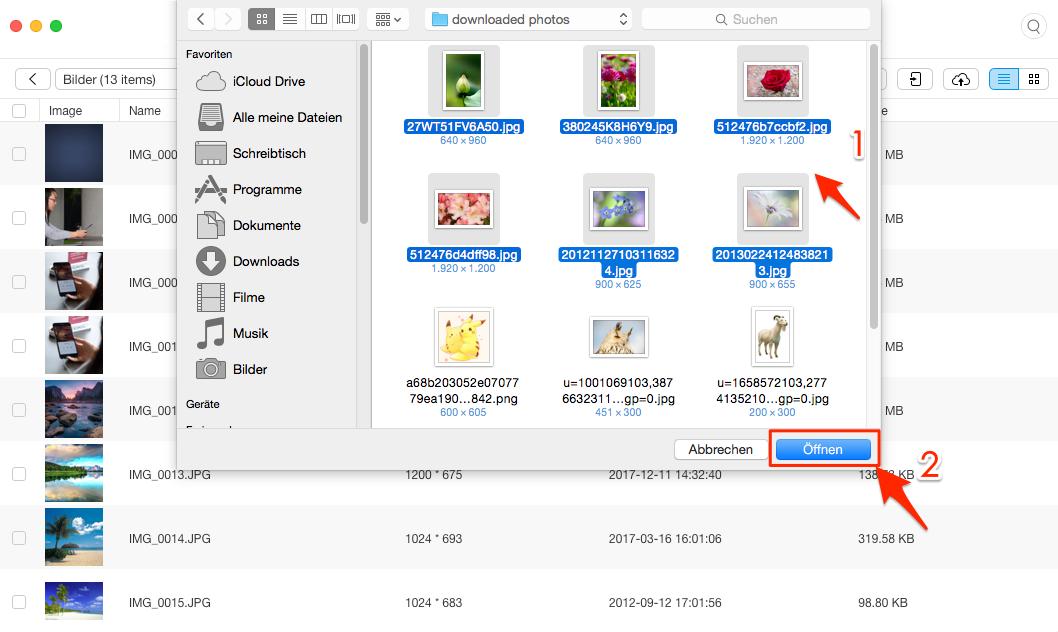 iTunes synchronisiert Fotos nicht – Fotos auf iPhone ziehen