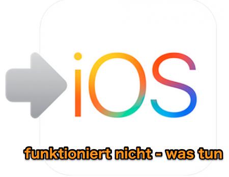 Move to iOS funktioniert nicht - was tun