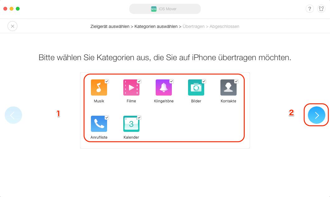 Move to iOS funktioniert nicht - Schritt 3