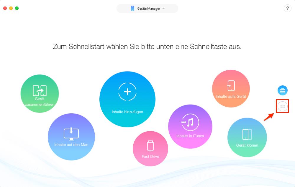 Musik zum neuen iPhone übertragen, ohne iTunes – Schritt 2