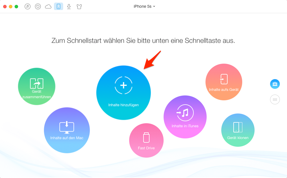 Windows: Musik auf iPhone