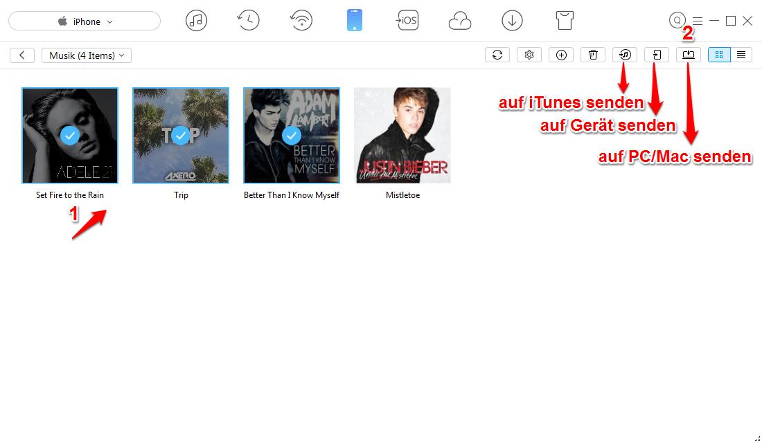 musik löschen iphone 4 ohne pc