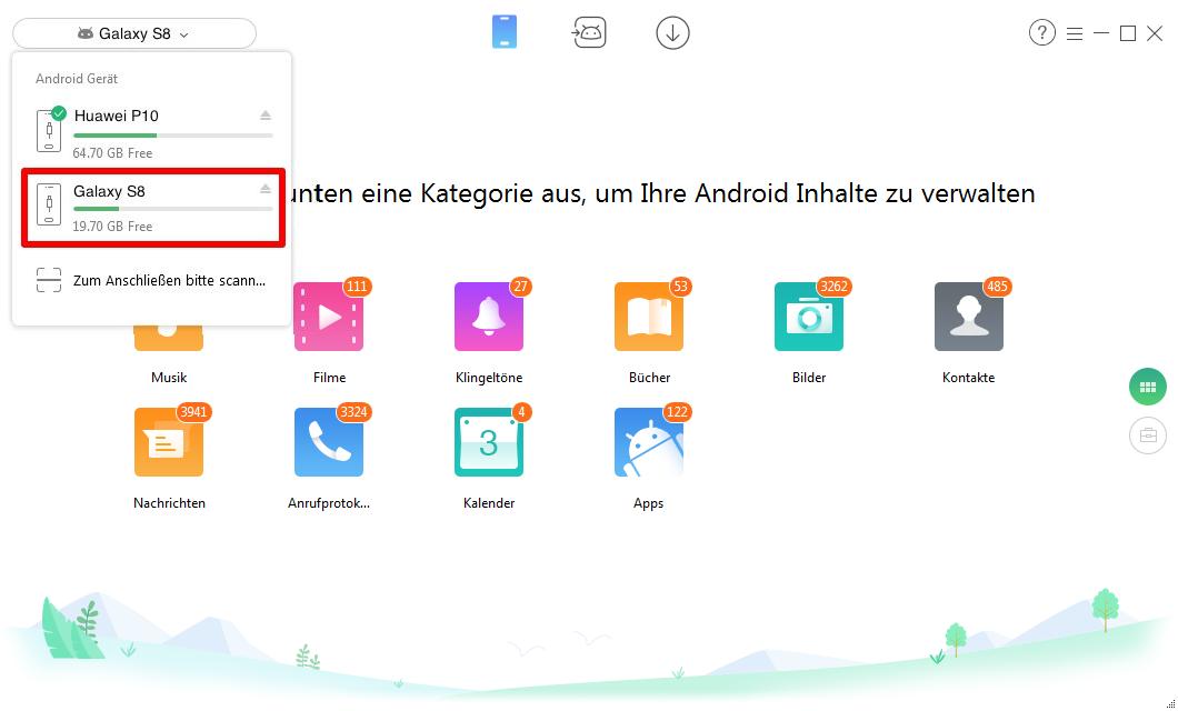 Musik von Android auf Android – Schritt 1