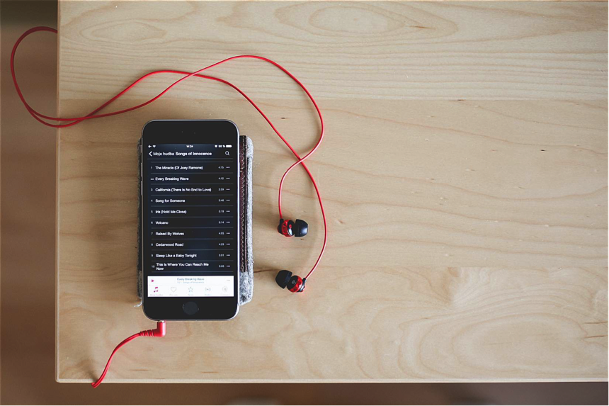 Musik von Android auf iOS