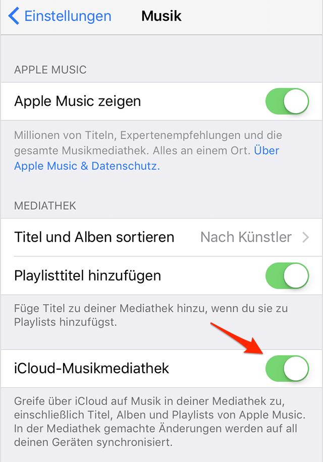 iOS 12 iPhone Musik verschwunden – So beheben