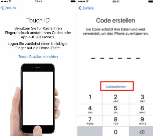 Neues apple iphone 7 einrichten