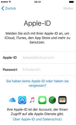 Neues iPhone 7 (plus) aktivieren - Apple-ID einrichten