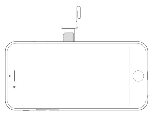 So neues iPhone aktivieren - Legen Sie eine SIM-Karte ein