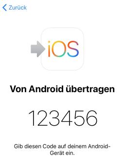 iPhone aktivieren – Code einpassen