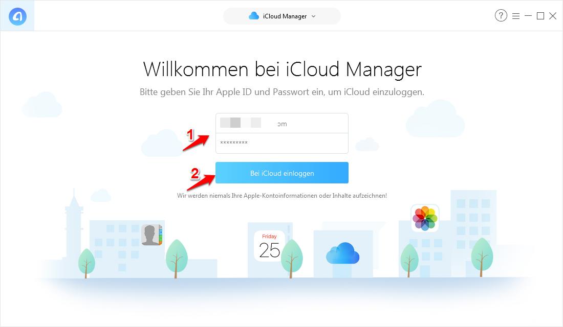 Outlook Kalender mit iCloud synchronisieren und dann iCloud Kalender herunterladen