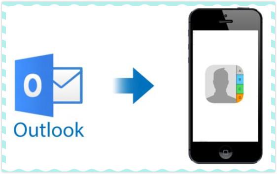 Outlook Kontakte auf iPhone