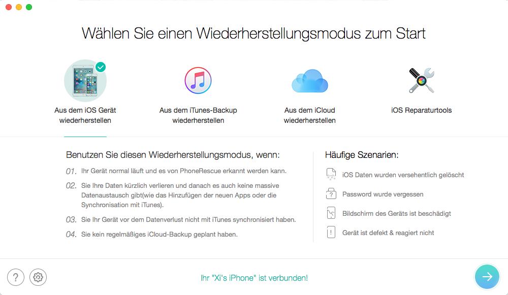 PhoneRescue für iOS – Crack-Version nicht herunterladen