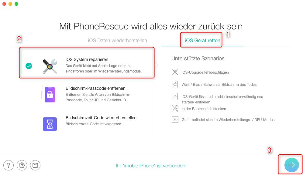 phonerescue-ios-system-reparieren