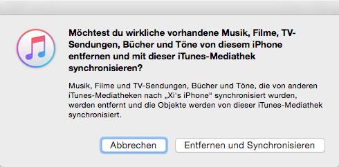 Playlist & Wiedergabeliste auf iPhone X/8 übertragen – über iTunes