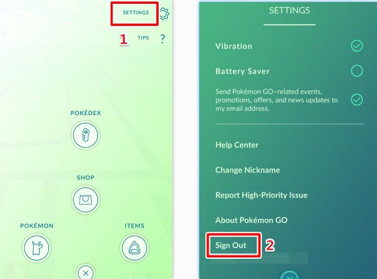 Pokemon Go weißer Bildschirm