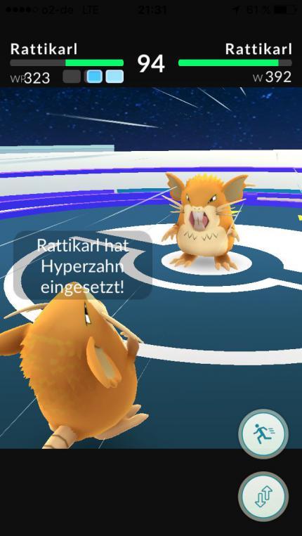 Pikachu fangen: Pokémon GO Fehler