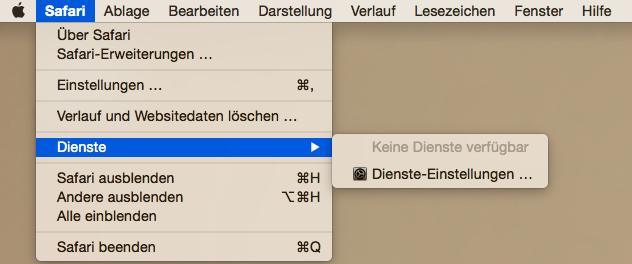 Safari zurücksetzen - El Capitan/MacOS Sierra/macOS High Sierra Probleme