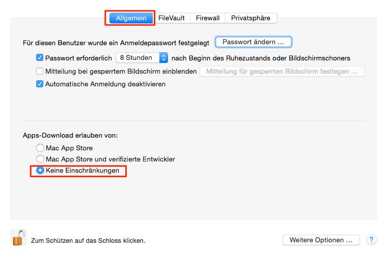 App nach dem Download nicht öffnen – Mac OS High Sierra Probleme