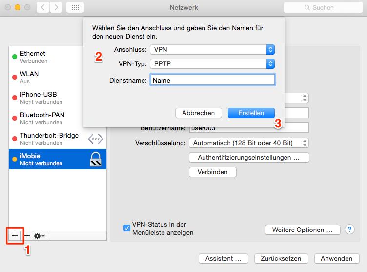 VPN am Mac erstellen – Mac Problem und Lösungen