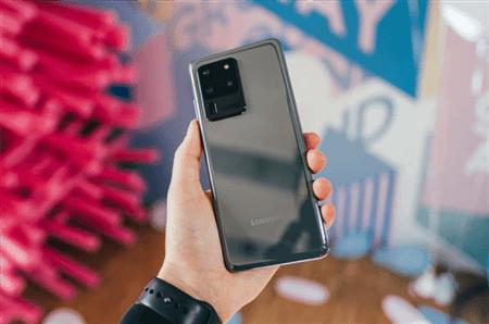 Samsung S20 Bildschirm entsperren