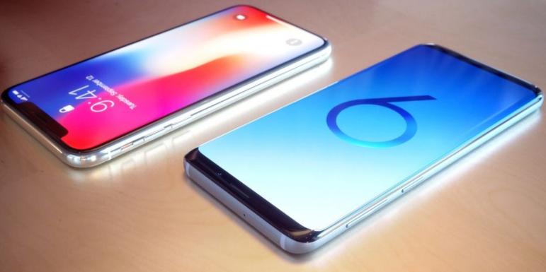 Samsung S9 vs iPhone X – vollständiger Vergleich