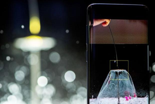 Samsung S9 vs. iPhone X – S9 mit Super Slow-Motion-Kamerafunktion