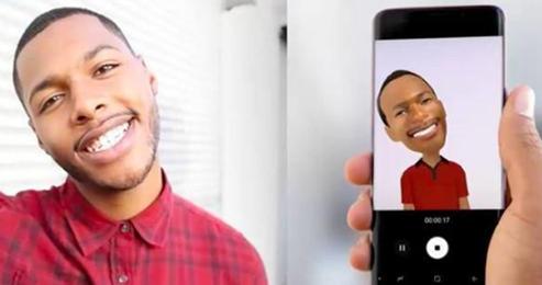 Unterschiede zwischen iPhone X und Samsung S9 – AR Emoji