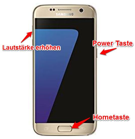 Samsung Touchscreen funktioniert nicht - Recovery Modus
