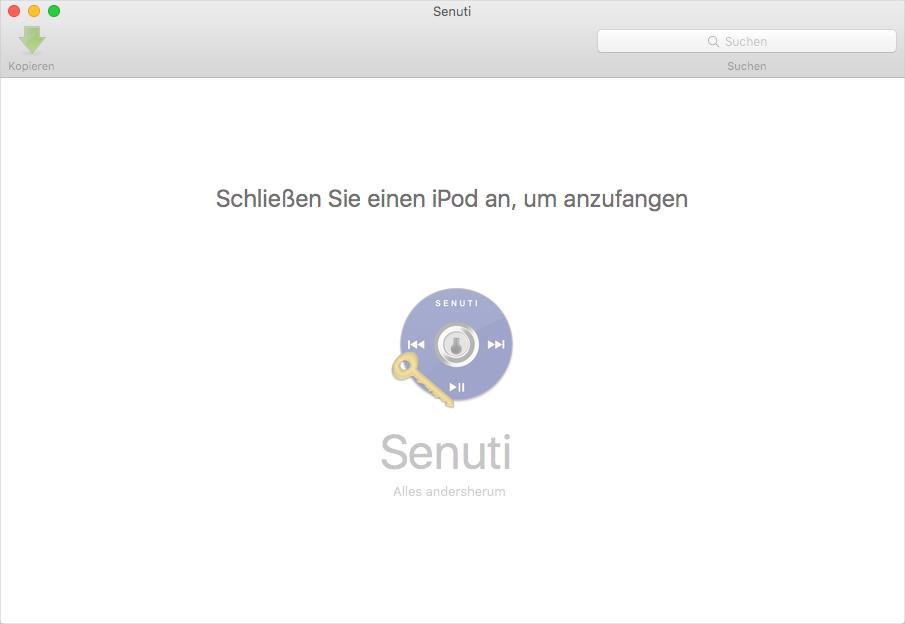 Senuti für Mac
