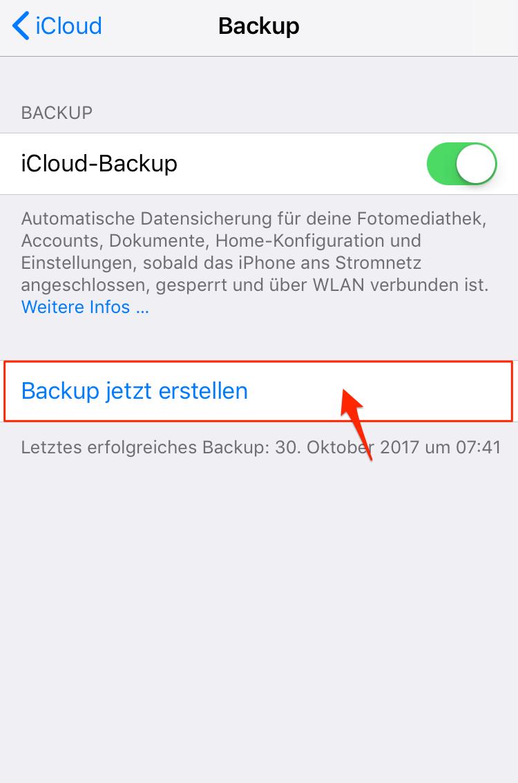 ICLOUD AUF NEUES IPHONE ÜBERTRAGEN