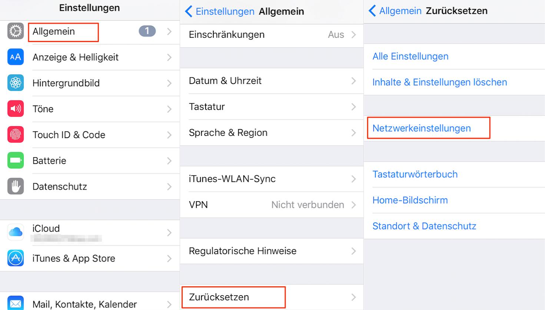 iOS 12/11.4/11 Softwareaktualisierung fehlgeschlagen