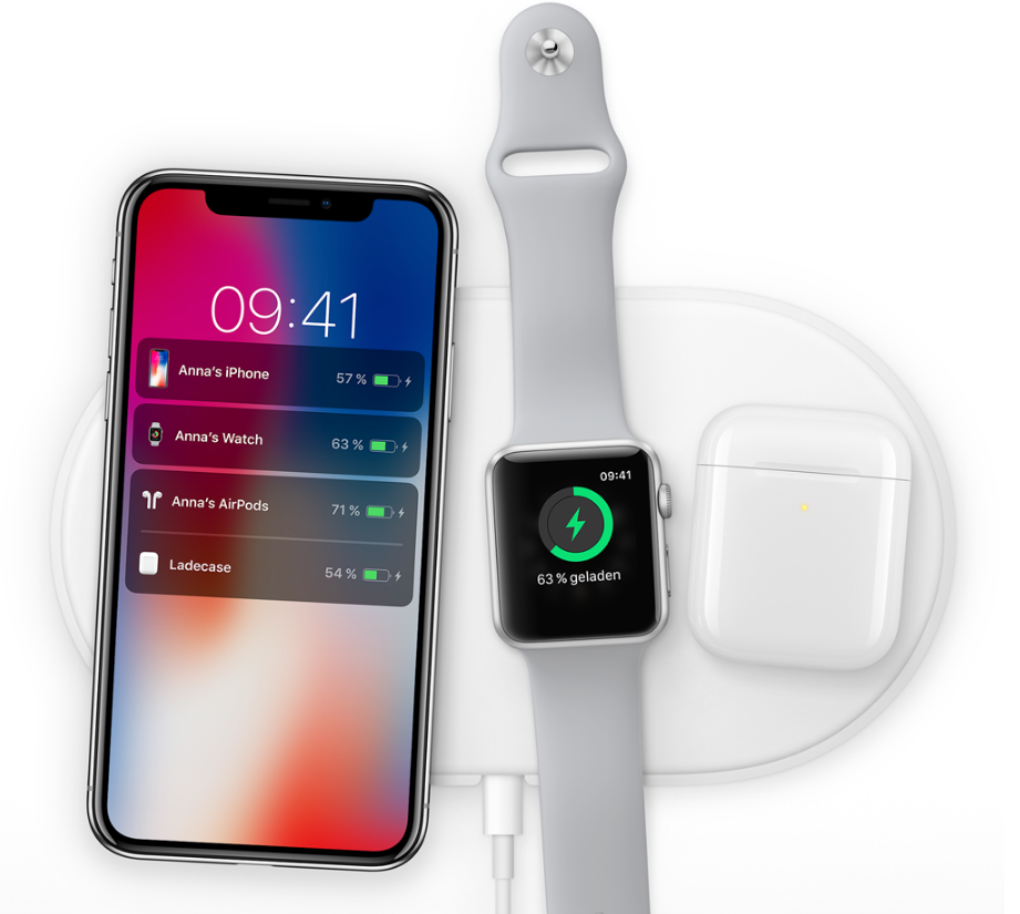 AirPower – iPhone X, Apple Watch, AirPods gleichzeitig kabellos laden