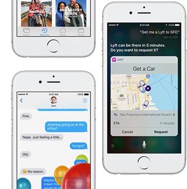 Neue Funktionen vom iOS 10