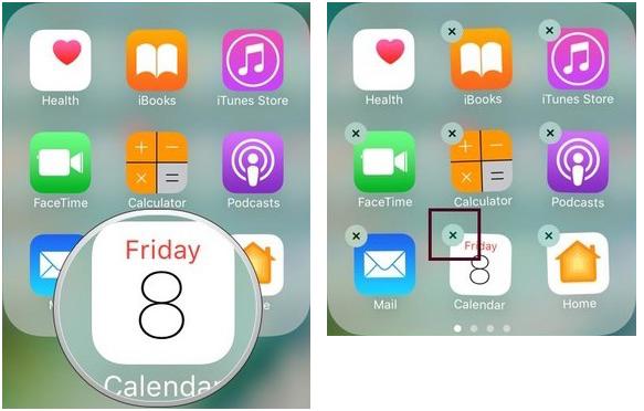 Intergierte Apps vom Gerät löschen
