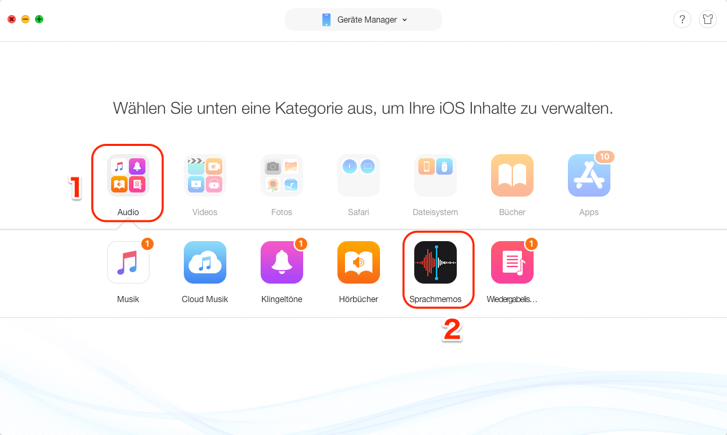 iphone 5s videos auf mac übertragen