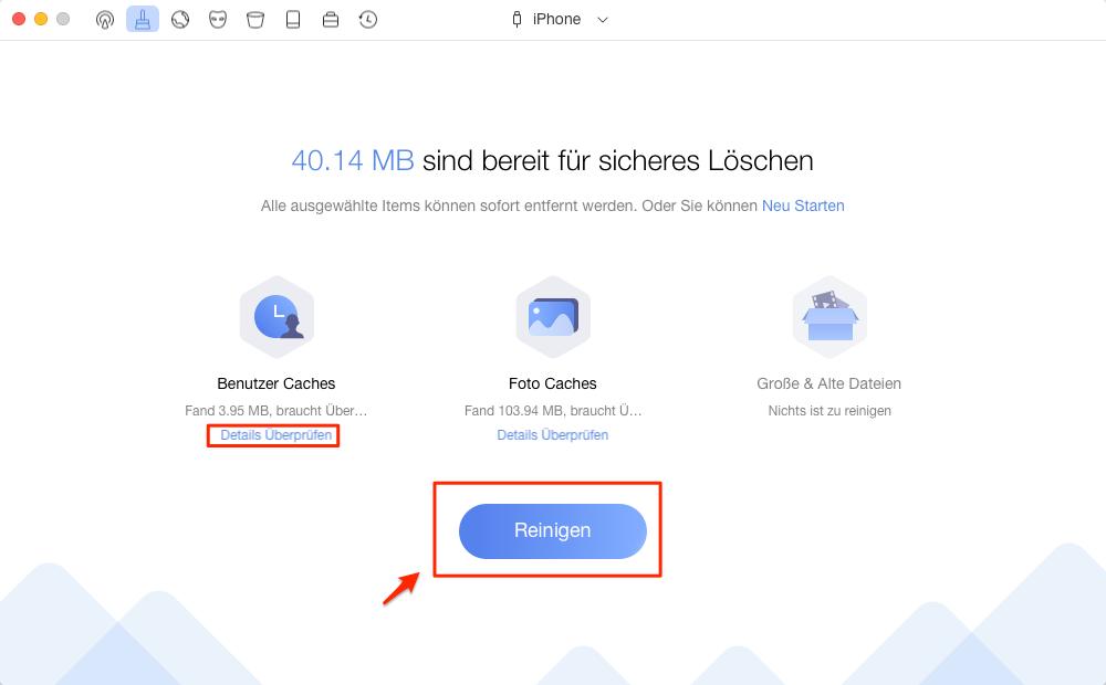 Mit iTunes Ersatz machen Sie iPhone schneller – Schritt 3