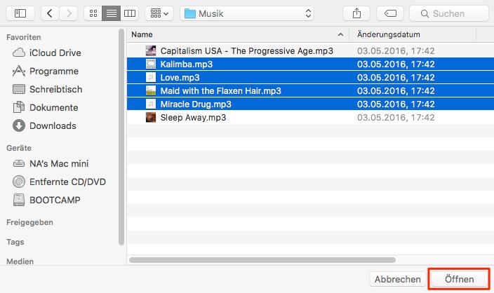 Musik vom Computer auf iPhone übertragen – Schritt 4