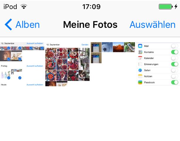 Bilder vom PC auf iPod exportieren