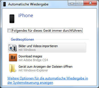 iphone fotos auf pc übertragen windows 7