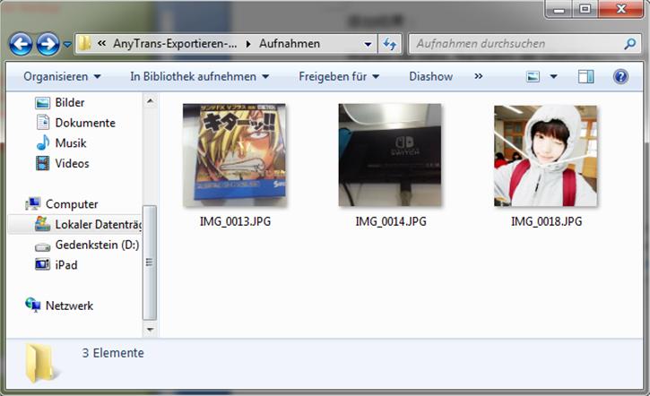 Alle iPad Fotos auf PC einfach übertragen