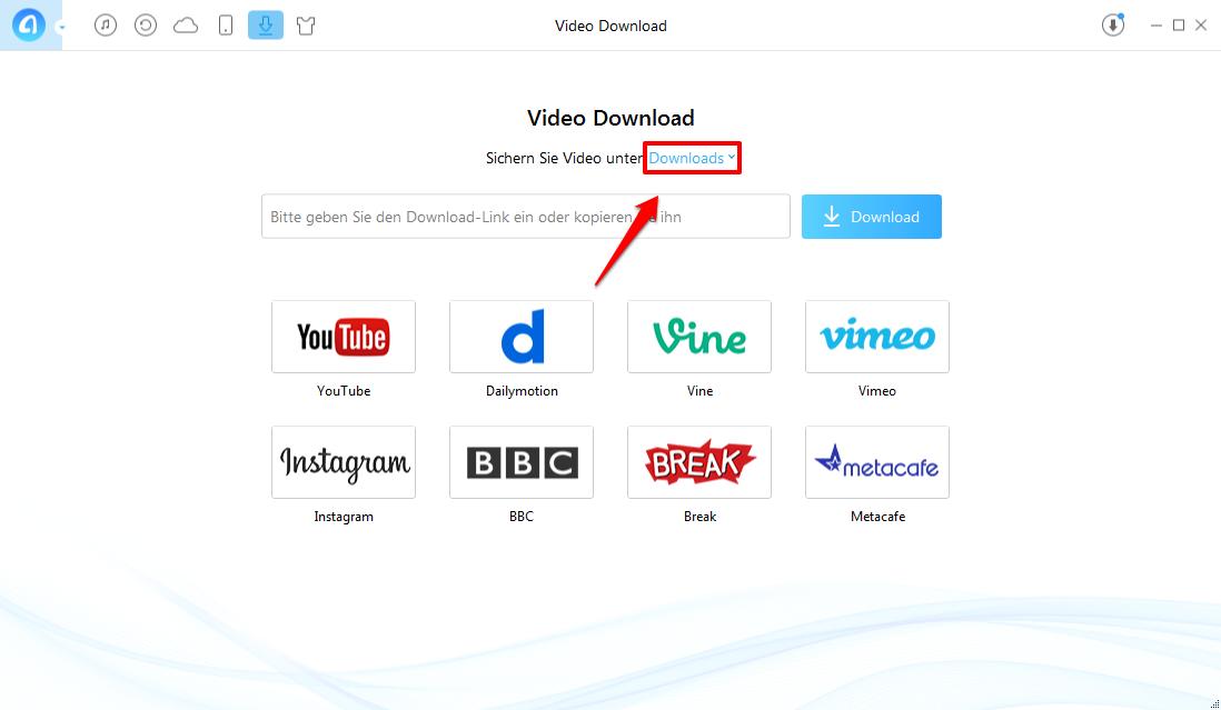Wie kann man Videos auf PC schnell laden – Schritt 2